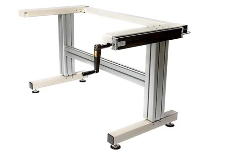 Cantilever Hand Crank Adjustable Height Work Table Frame