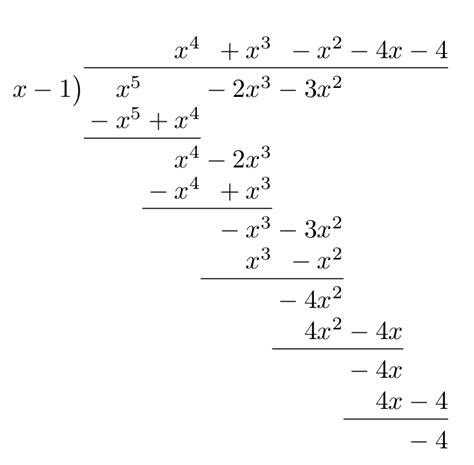 algebra precalculus polynomials quotient  remainder