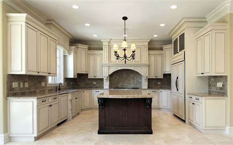 kitchen with antique white cabinets antique white kitchen cabinets design photos designing 8737