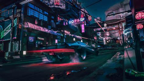 outrun style edit     cyberpunk