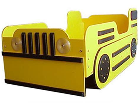 bulldozer toddler bed yellow