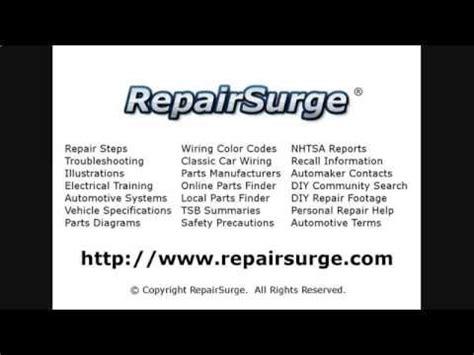 chevrolet caprice repair manual service info