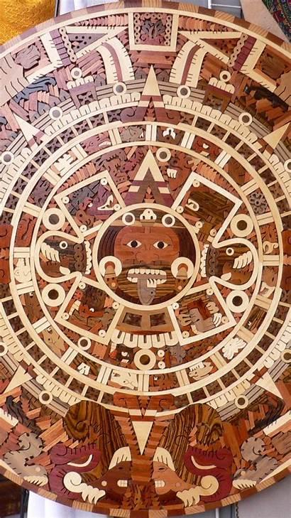 Aztec Calendar Civilization Wallpapers Sun Wallpapersafari Mobile