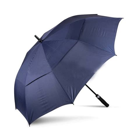 Payung Terbalik Ukuran Besar payung golf besar payung dua lapis dengan tombol