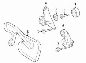 Dodge Sprinter 2500 Accessory Drive Belt Tensioner