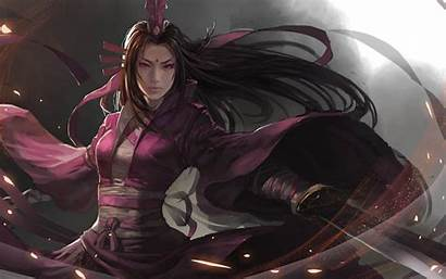 Warriors Dynasty Sword Wallpapers Warrior Digital Female