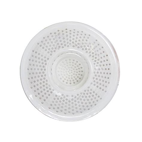 bathtub drain clogged with dirt hairstopper plastic drain cover for showers or bathtubs