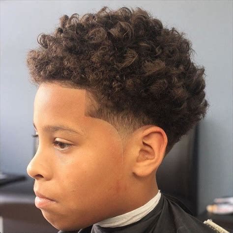 Hairstyles For Boys With Curly Hair by Black Boy Haircuts For Curly Hair Hair