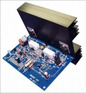 100w Audio Amplifier With Transistor Bdw83d  Bdw84d