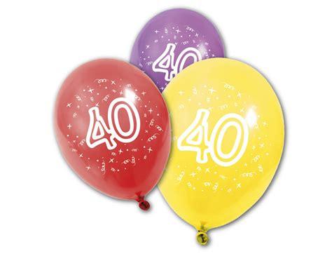photo 40 ans 8 ballons en anniversaire 40 ans achat de decoration animation sur vegaoopro grossiste