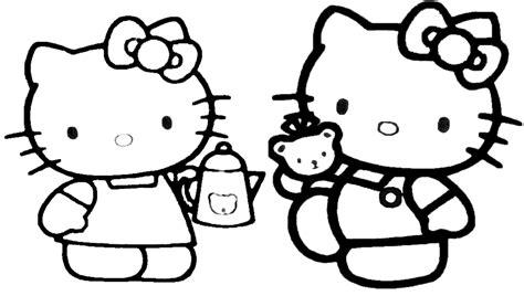 Hello Kitty Da Colorare Sul Computer