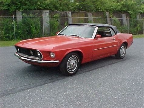 Purchase Used 69 Mustang Convertible In Allentown
