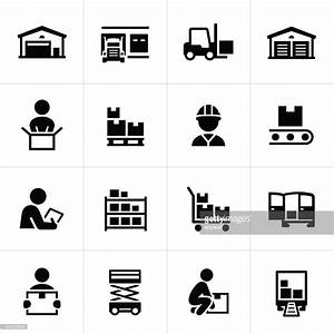 Distribution Warehouse Icons Vector Art | Getty Images