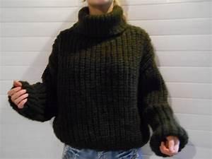 Pull Laine Homme Grosse Maille : gros pull en laine femme laine et tricot ~ Melissatoandfro.com Idées de Décoration