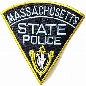 MASSACHUSETTS STATE POLICE Shield Logo Police Jacket ...