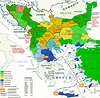 Religious/Ethnic map of the Balkans in the 19th Century ...