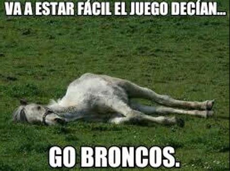 Memes De Los Broncos De Denver - tuiteros se burlan con memes de los broncos de denver e consulta com 2018