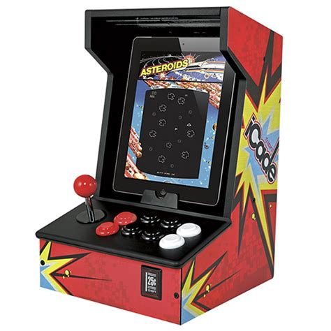Ion Icade Arcade Cabinet For Ipad Works With 500 Games