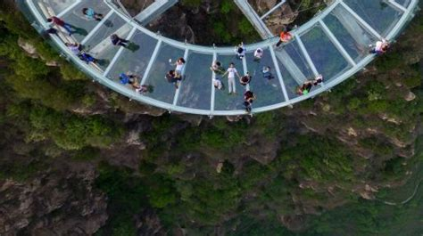 world s longest highest glass bridge in china is ready to