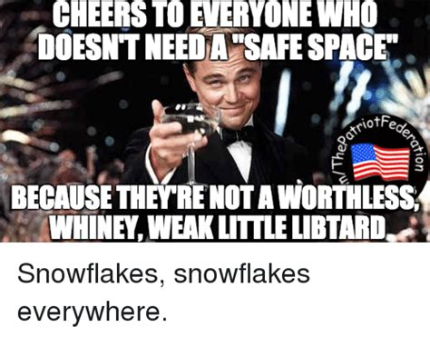 Snowflake Memes - doesnt needa safespace because theyrenotaworthless whine weak litlelbtardd snowflakes snowflakes