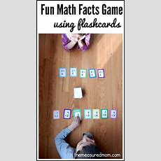 15 In A Row Fun Math Facts Game Using Flashcards  The Measured Mom