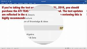 Ati Teas Study Manual  U2013 Sixth Edition