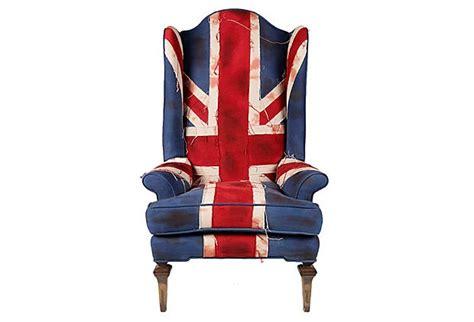 Union Jack Armchair On Onekingslane.com