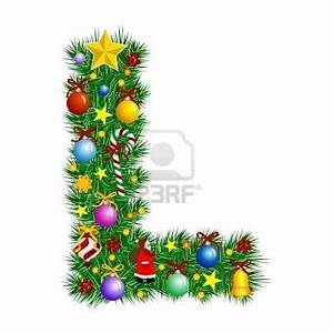 1000 images about letter quotlquot on pinterest typography for Christmas tree letters