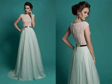 Elegantes Kleid, Chiffon Kleid, Hochzeit Spitzenkleid Boho Kleid, Mint Bohemian, Wedding Dress