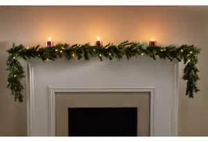 9 ft battery operated garland sharper image