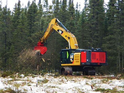 gallery forestry mulchers grinders tree shears  excavators skid steers tractors