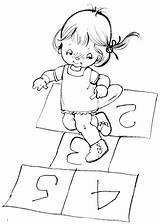 Coloring Hopscotch Pages Tina Bonnie Jones Books Adult Picasa Web Stamp Template Colouring Digital Albuns Da Digi Norcross Printable Copilarie sketch template