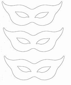 FREE Printable Cat Eye Half Mask Template | Mask template ...