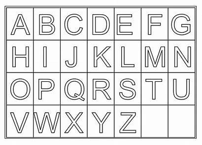 Letters Printable Activity Via