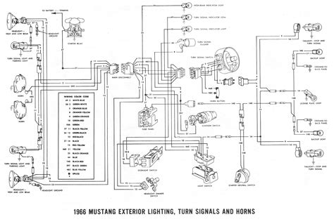 66 Mustang Wiring Diagram by Wiring Diagram Also Wiring Diagram Further 66 Mustang Horn