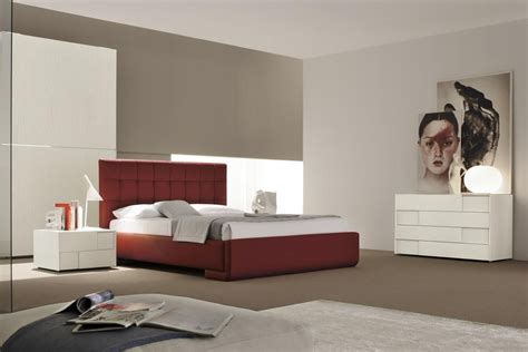 Modern Bedroom Furniture Made In Made In Italy Leather Contemporary Master Bedroom Designs