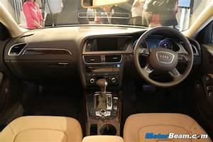 New Audi A4 2012 Interior