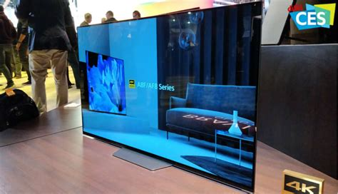 ces  sony announce af  oled  xf lcd tvs