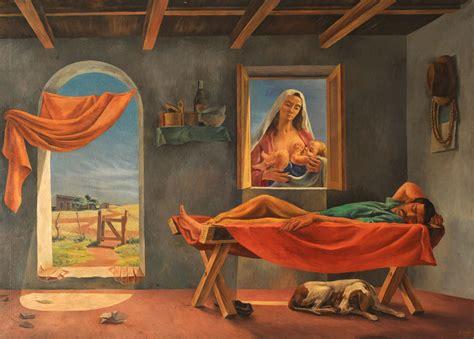 Antonio Berni Temas Apocalipsis Y Crucifixiones La Siesta Berni Antonio