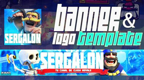 Banner Template De Clash Royale by Clash Royale L Banner Template Psd Free Download Youtube