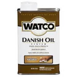 Danish Oil Pictures