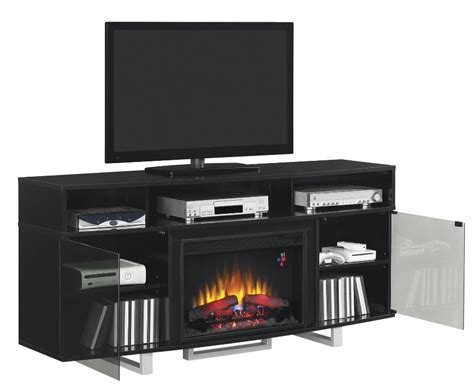 black gloss fireplace 72 quot enterprise lite high gloss black media mantel electric