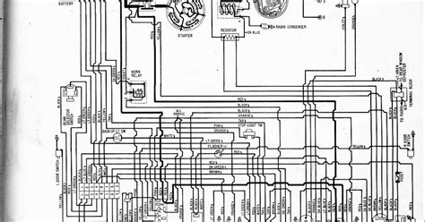 auto wiring diagram  plymouth valiant wiring diagram