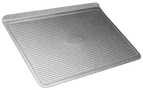 baking cookie sheets rated sheet pan amazon warp usa bakeware steel nonstick aluminized test resistant