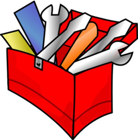Red Toolbox Full Clip Art At Clkercom  Vector Clip Art Online, Royalty Free & Public Domain