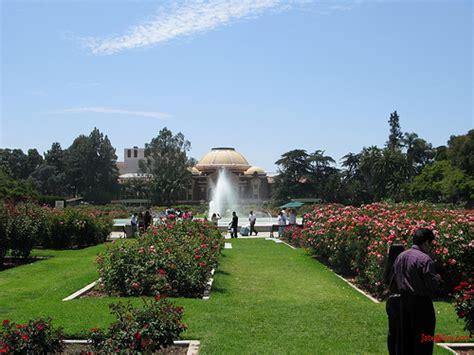 south los angeles la exposition park garden flickr