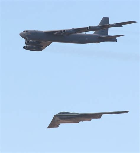 B-2 Spirit Stealth Bomber At The Edwards Air Force Base