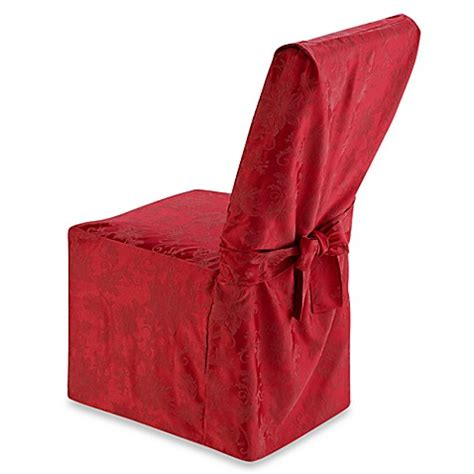 holiday joy dining room chair cover bed bath