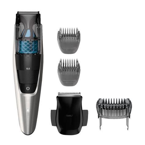 philips norelco beard trimmer vacuum adjustable length settings stubble