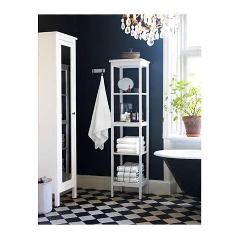 ikea hemnes bathroom storage hemnes shelving unit white 42x172 cm ikea